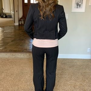 Express pinstripe work pants